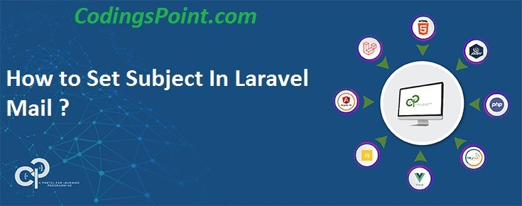 How to Set Subject In Laravel Mail