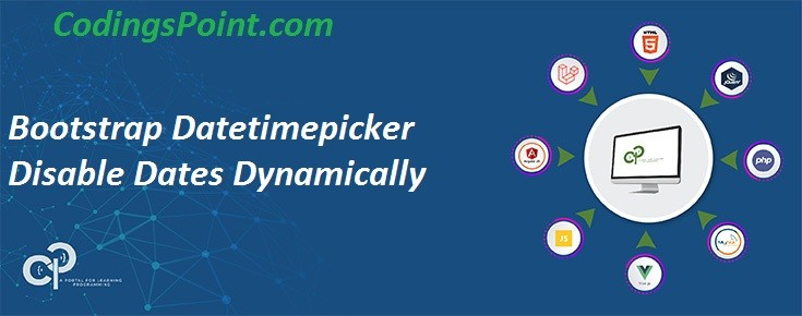 Bootstrap Datetimepicker Disable Dates Dynamically