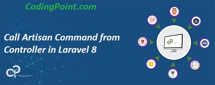 Call Artisan Command from Controller in Laravel 8