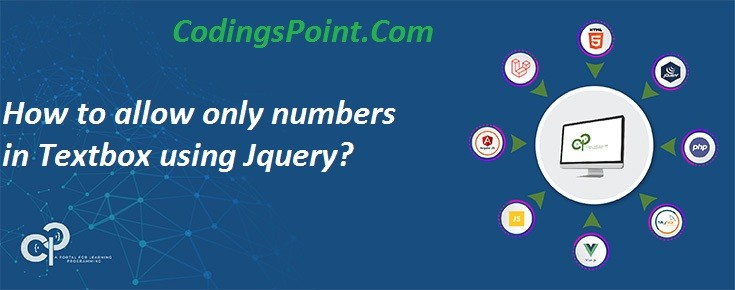 How to allow only numbers in Textbox using Jquery